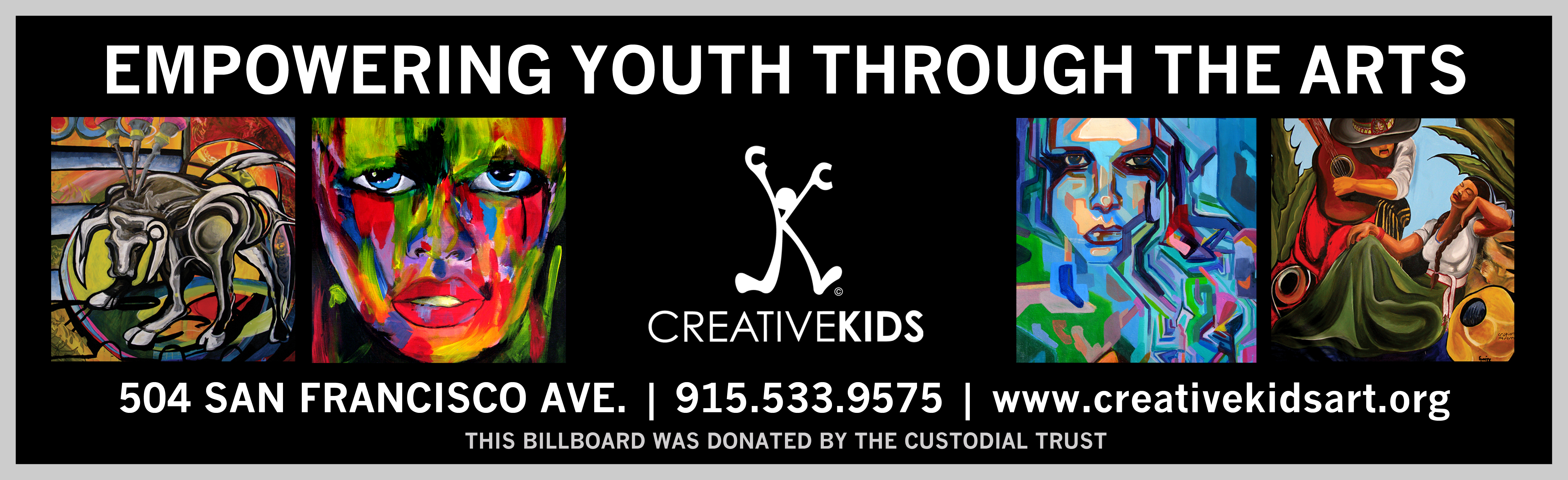 Creative Kids Billboard