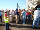 Site Trustee, Roberto Puga, Talks to Ex-ASARCO Employees