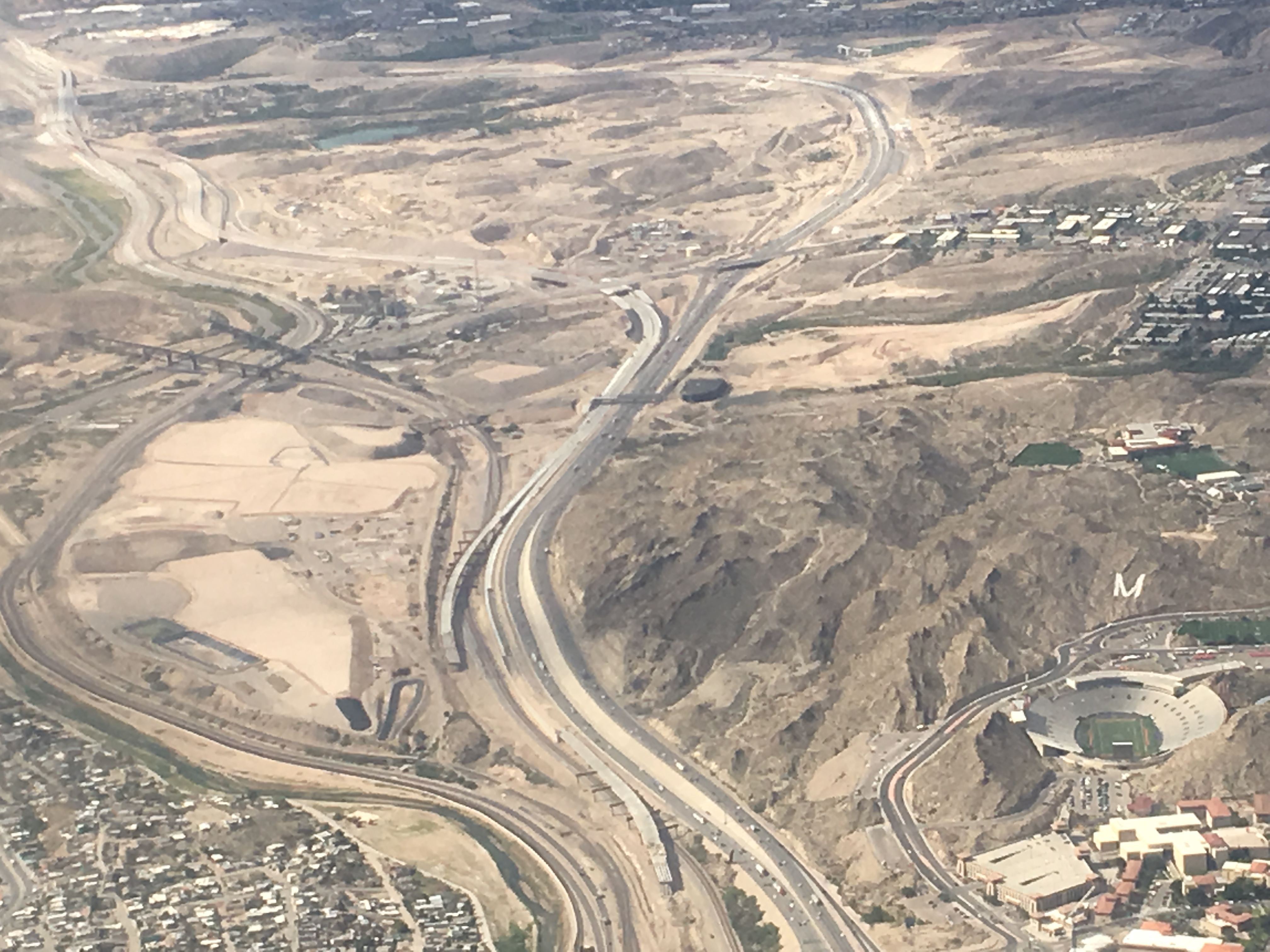 Aerial Photos from Plane